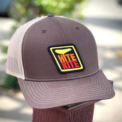 Hite-Rite Trucker Hat (Brown/Sand)