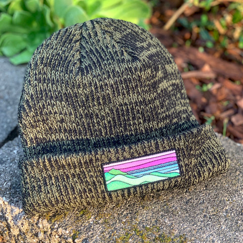Classic Beanie (Forest) with Ridgecrest Patch