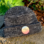 Classic Beanie (Black) with Birds Patch