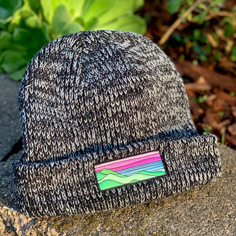 Classic Beanie (Black) with Ridgecrest Patch