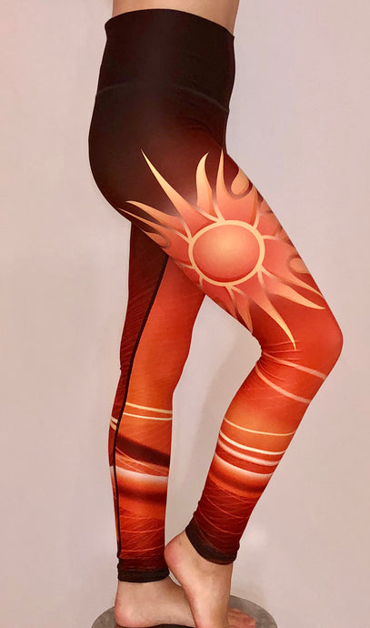 Sun Rise leggings