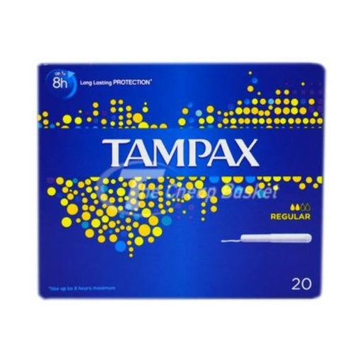 Tampax Regular Tampons Pack-20