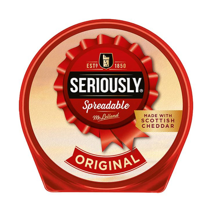 Seriously Spreadable Original Cheese Spread Tub 125g