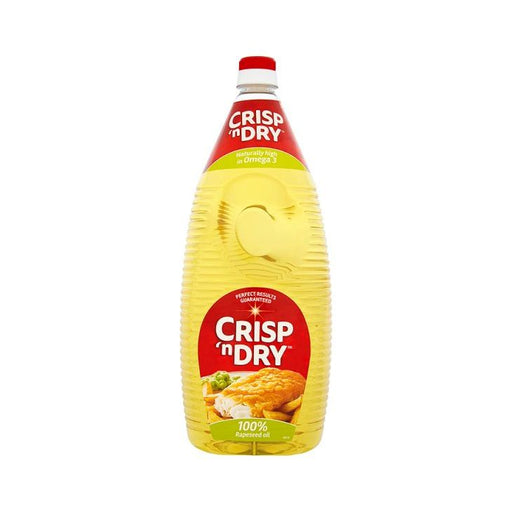 Crisp 'n Dry 100%; Cooking Oils Rapeseed Oil 2L