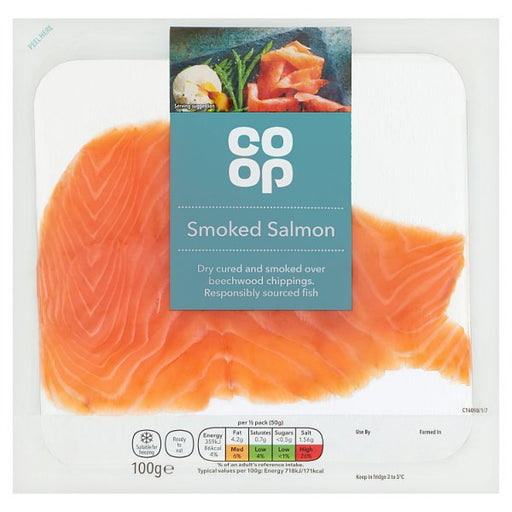 Co-op smoked salmon
