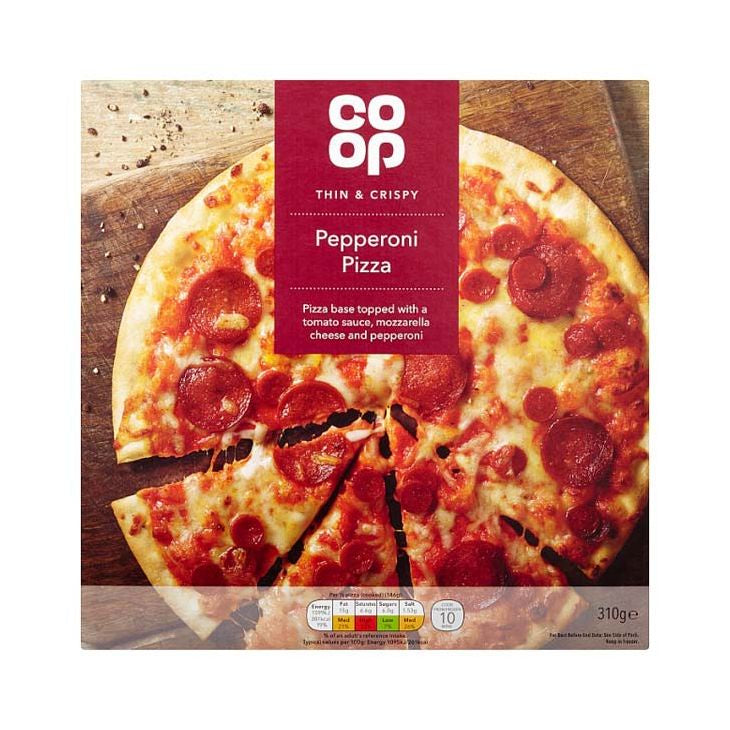 Co-op Pepperoni Pizza 310g