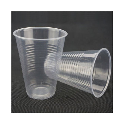 Clear Plastic Soft Wall Cups 180ml 100-Pack