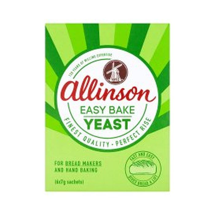 Allinson Easybake Yeast 7g 6-Pack
