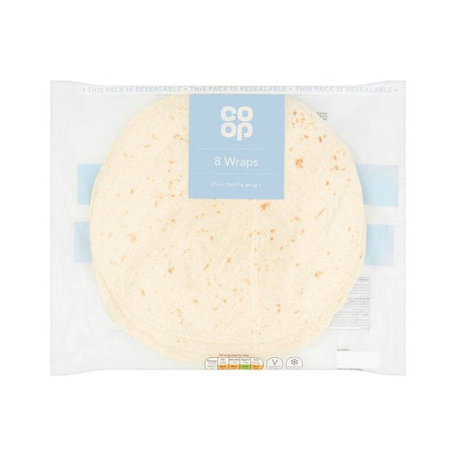 Co-op Large Tortilla Wraps x 8