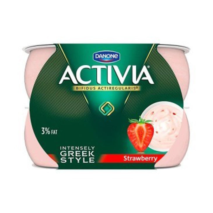Activia Intensely Creamy Strawberry 4-Pack