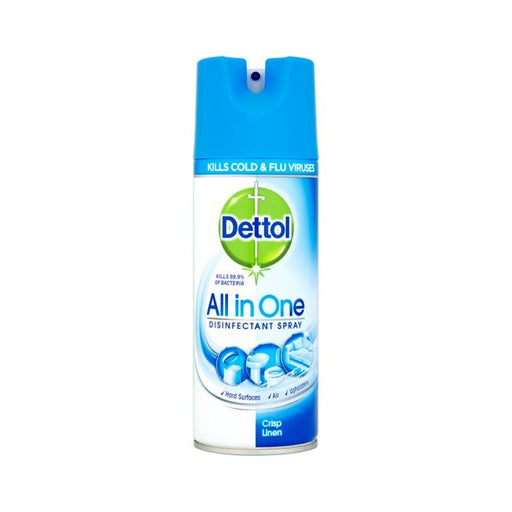 Dettol All-in-One Linen Disinfectant Spray 400ml