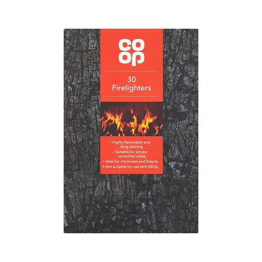Co-op Firelighters 30pk