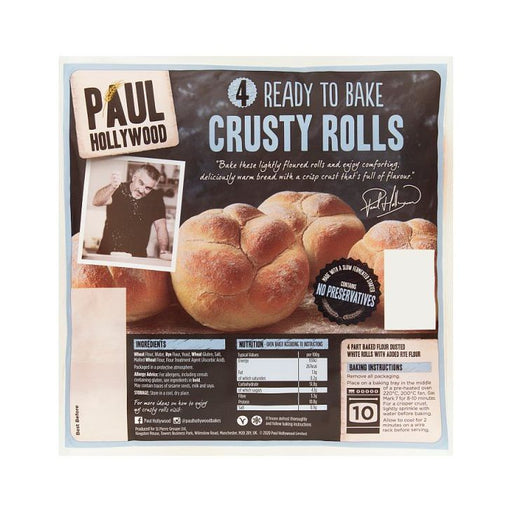 Paul Hollywood 4 Ready to Bake Crusty Rolls