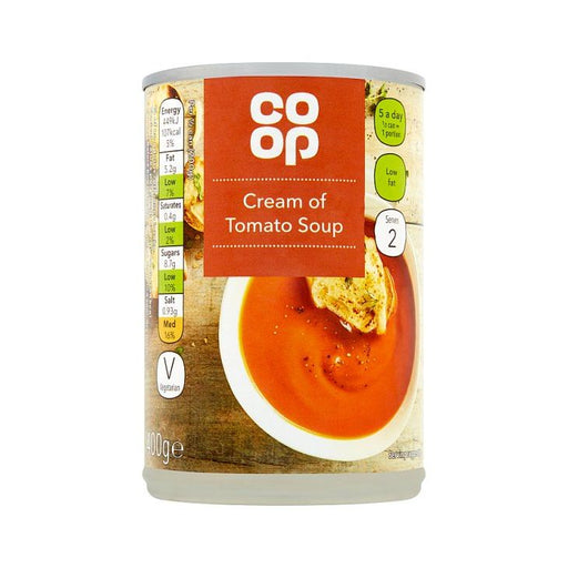 Co-op Cream of Tomato Soup 400g
