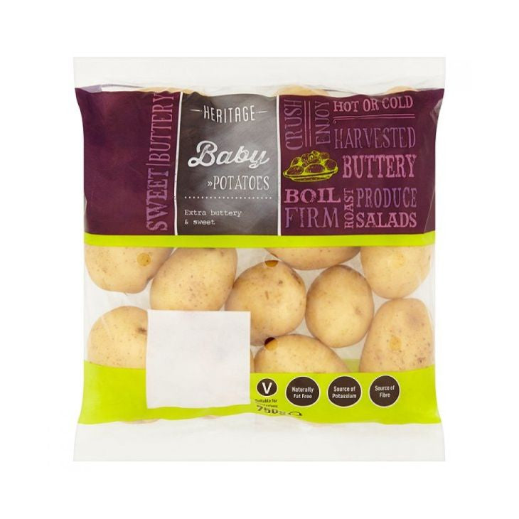 Heritage Baby Potatoes 750g