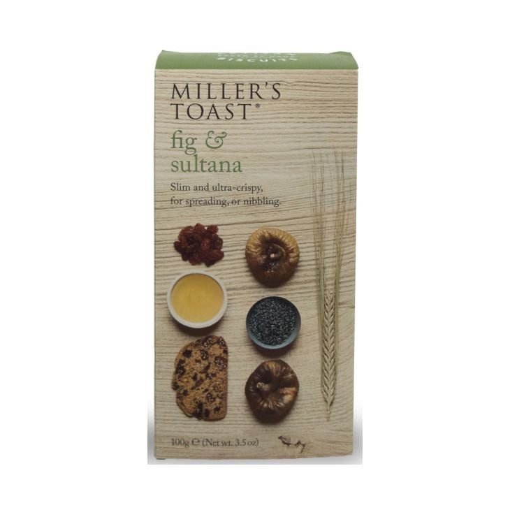 Miller's Toast Fig & Sultana