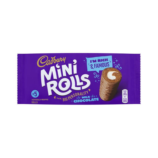 Cadbury Mini Rolls 5-Pack