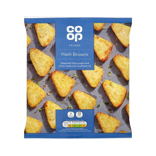Co-op Hash Browns 700g