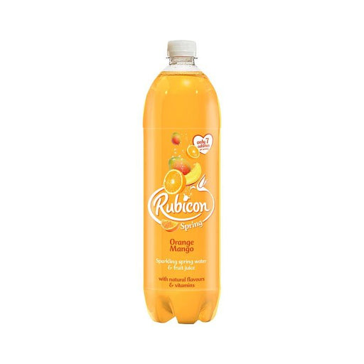 Rubicon Spring Sparkling Orange & Mango Water 1.5Ltr