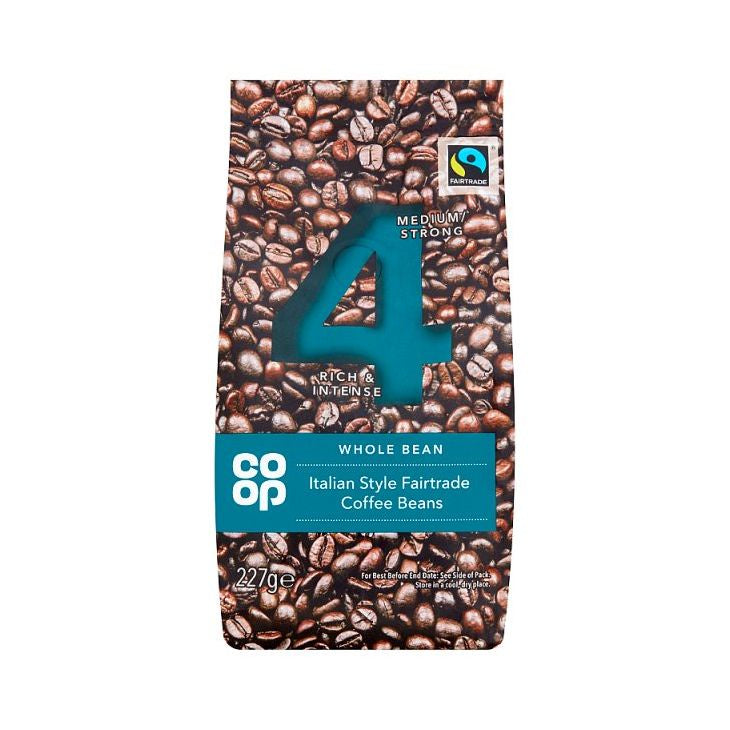 Co-op Italian Blend Coffee Beans 227g