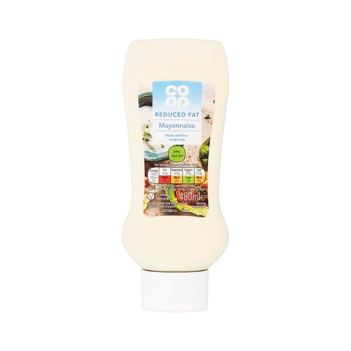 Co-op Low Calorie Mayonnaise 480ml
