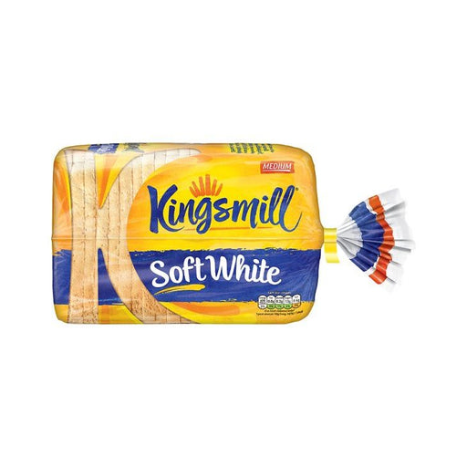 Kingsmill Soft White Medium Sliced Bread 800g