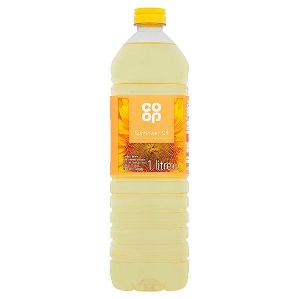 Co op Pure Sunflower Oil 1 Litre