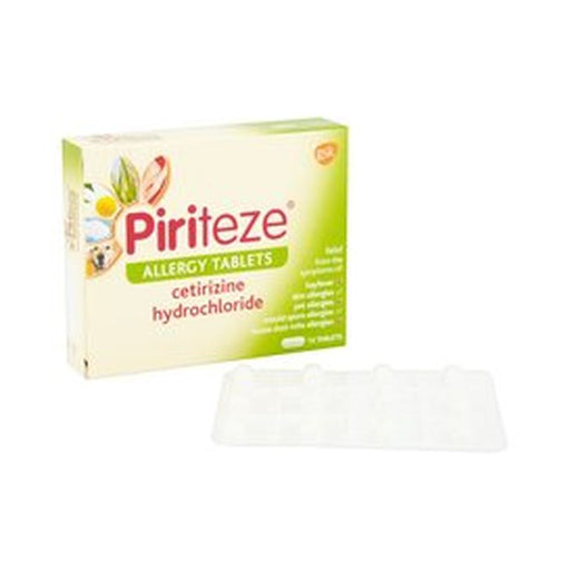 Piriteze Allergy Tablets 10mg 7-Pack