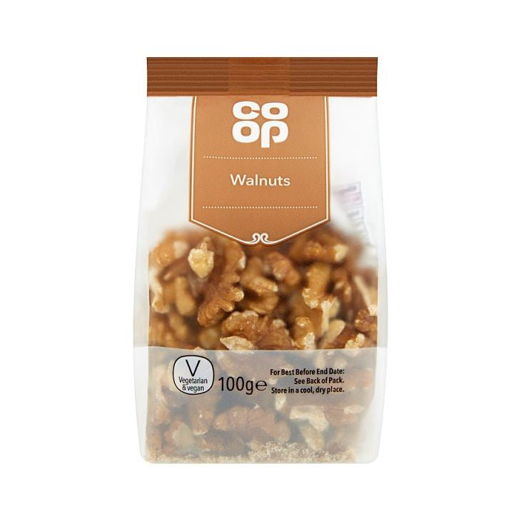 Co-op Walnut Halves 100g