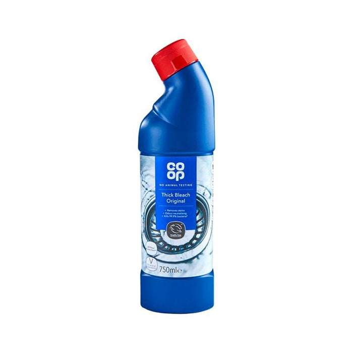 Co-op Original Thick Bleach 750ml