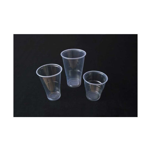 Clear Disposable Plastic Pint Tumbler 12-Pack