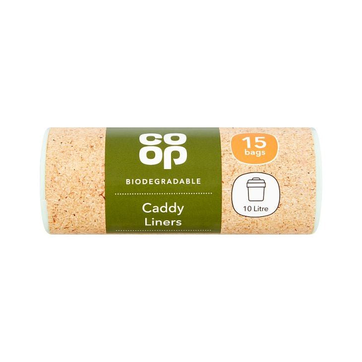 Co-op Biodegradable Caddy Liners x 15