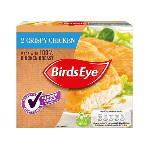 Birds Eye 2 Crispy Chicken 170g