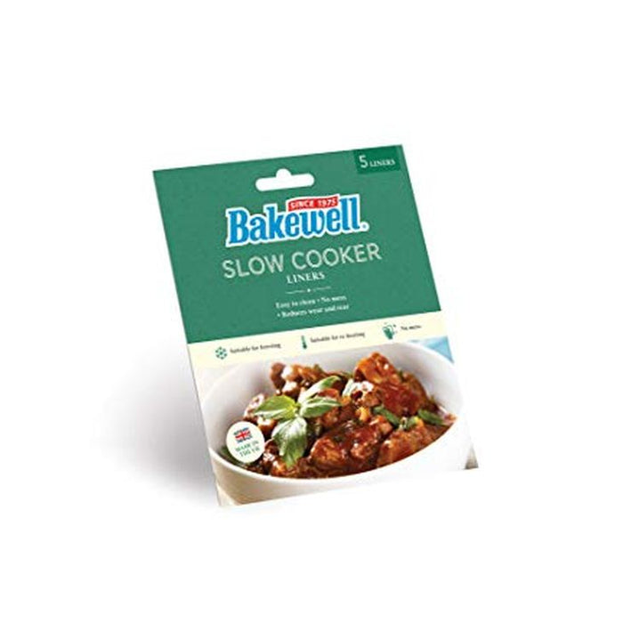 Bakewell Slow Cooker Liners 5-Pack