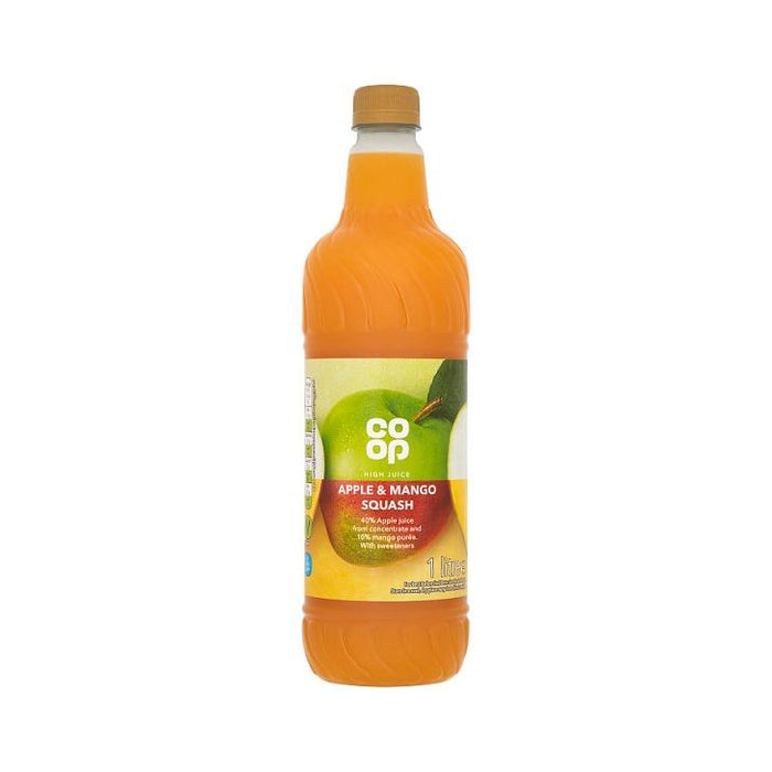 Co op Apple & Mango High Juice 1Ltr