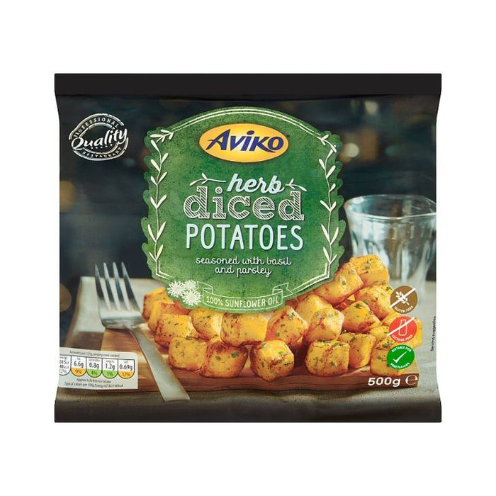 Aviko Herb Diced Potatoes 500g