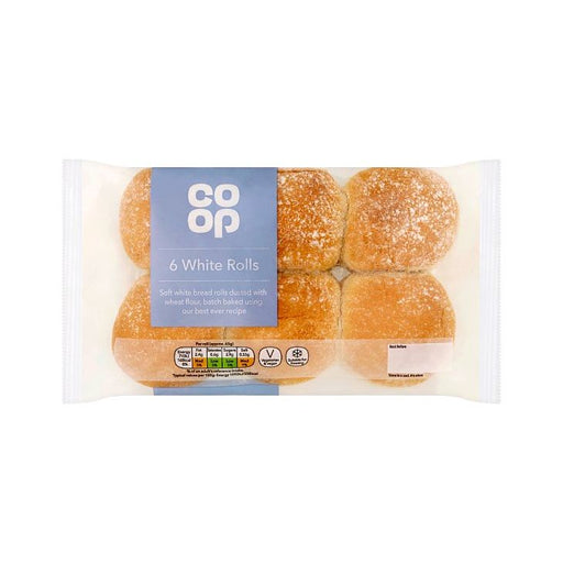 Co-op White Rolls 6-Pack