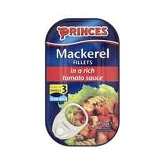 Princes Mackerel In Tomato125g