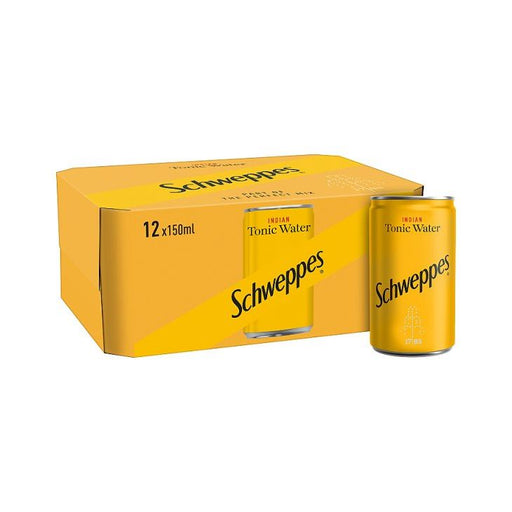 Schweppes Tonic Water Mini Can 12-Pack