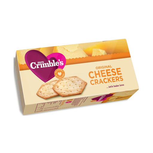Mrs Crimble's Gluten Free Original Cheese Crackers 130g