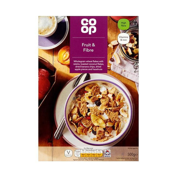 Co-op Fruit & Fibre 500g