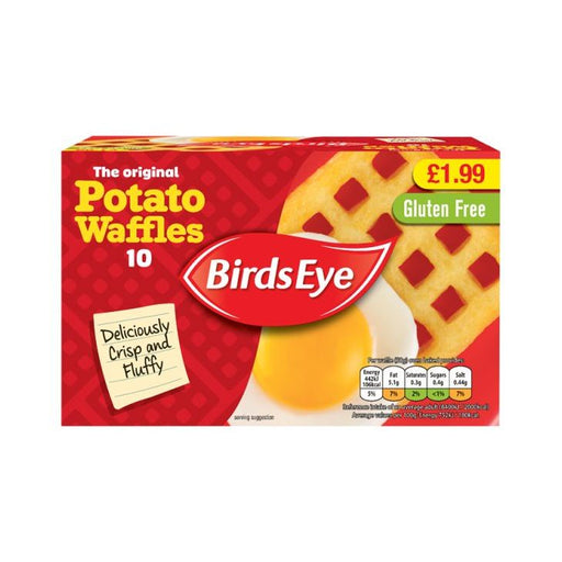 Birds Eye Potato Waffles 10-Pack