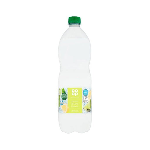 Co op Lemon & Lime Sparkling Spring Water 1Ltr