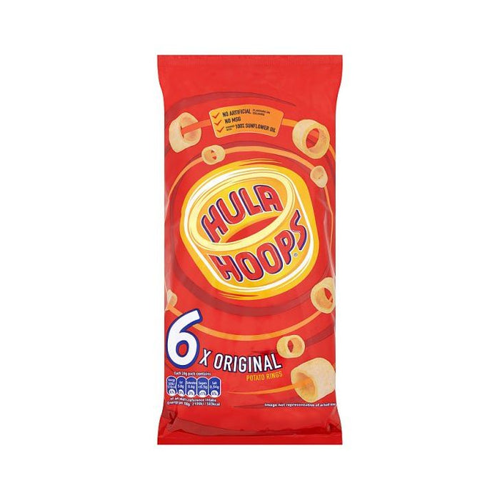 Hula Hoops Original 6-Pack