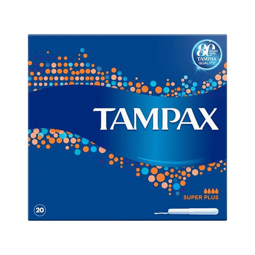 Tampax Super Plus 20-Pack