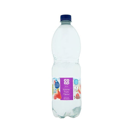 Co op Summer Fruits Still Spring Water 1Ltr