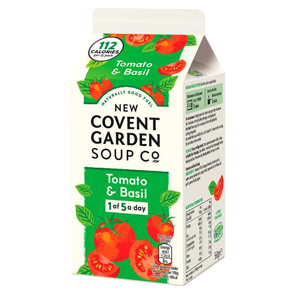 Covent Tomato and Basil Soup 560g