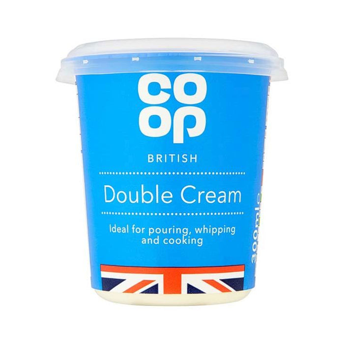 Co-op Double Cream 300ml