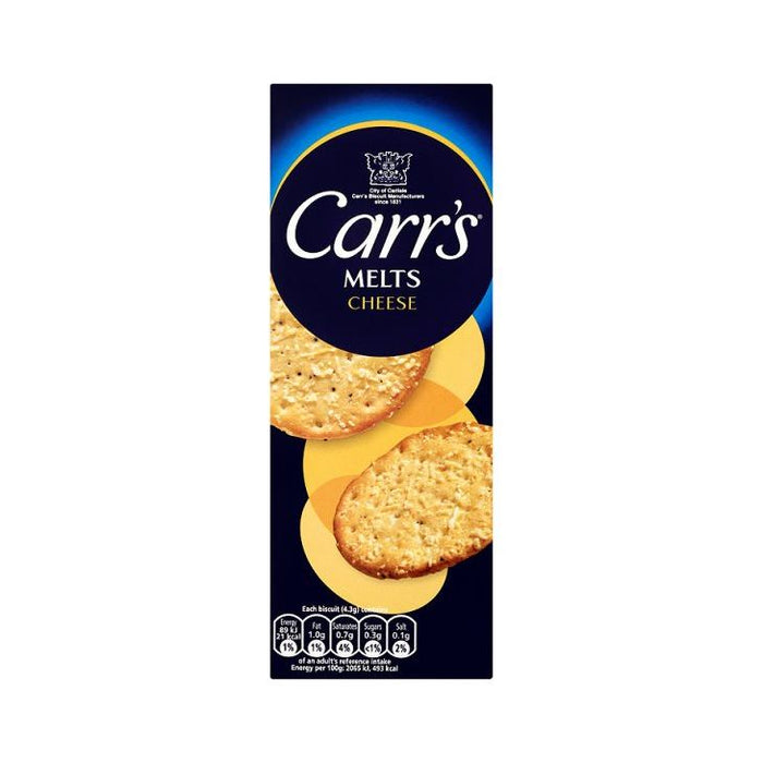 Carrs Cheese Melts 150g