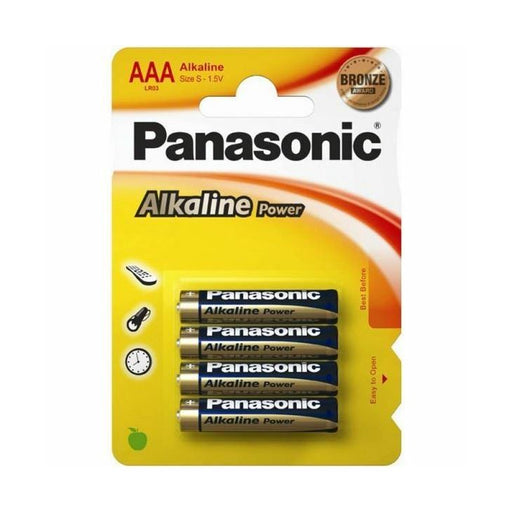 Panasonic LR03 /AAA Alkaline Batterries B4